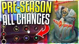 NEW PRE-SEASON 9 IS HERE!! All Changes REVEALED - League of Legends
