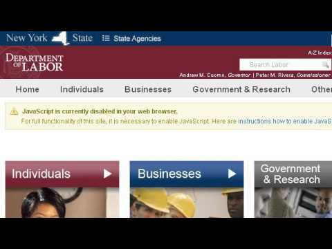 Weekly Certification For Unemployment In New York - YouTube