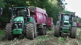 TRACTOR JOHN DEERE BIG MACHINES | CLAAS - BIG CORN SILAGE