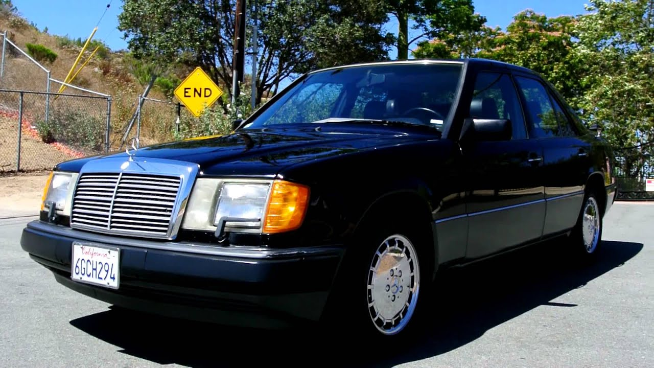 1990 mercedes benz 300e 94k original miles w124 sedan 3 0l for Mercedes benz 1990 e300