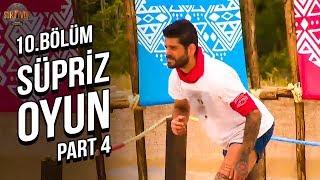 Sürpriz Ödül Oyunu 4. Part | 10. Bölüm | Survivor 2019 Türkiye Yunanistan
