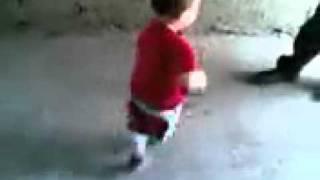 Baby is dancing for Ennadi muniyamma song