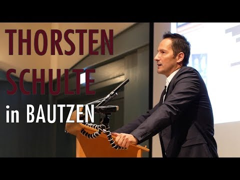 Kontrollverlust - Thorsten Schulte spricht in Bautzen (05.10.2017)