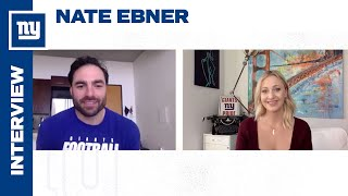 Nate Ebner Talks New Book, Pursuit of Rugby \u0026 Football Dreams | New York Giants