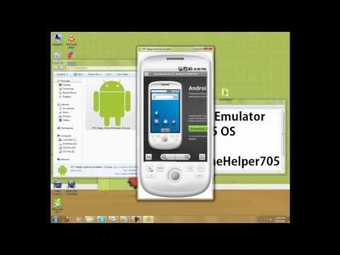 ♥ HTC Magic Android Emulator [HD] ♥