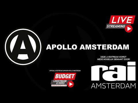 LIVESTREAM: Apollo Amsterdam