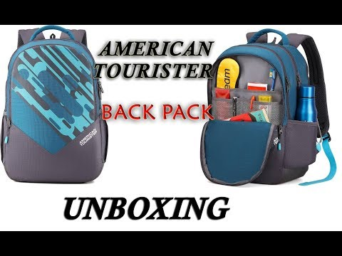 Unboxing American Tourister Mist Sch Bag 29 L Backpack