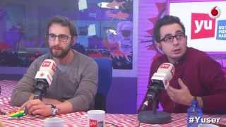 yu Dani Rovira y Berto Romero en #8ApellidosCatalanes