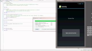 Android programming with Basic4Android - Two Activities - Tutorial