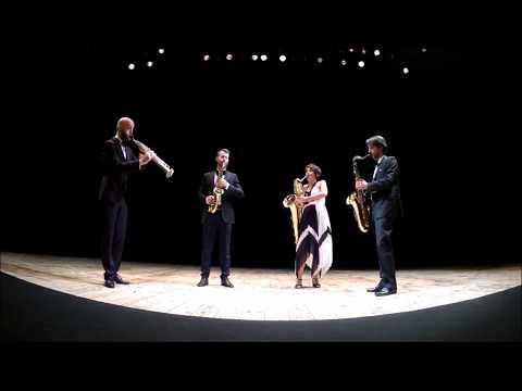 Milano Saxophone Quartet - Live in Milano, Teatro Dell'arte - MITO Settembre Musica