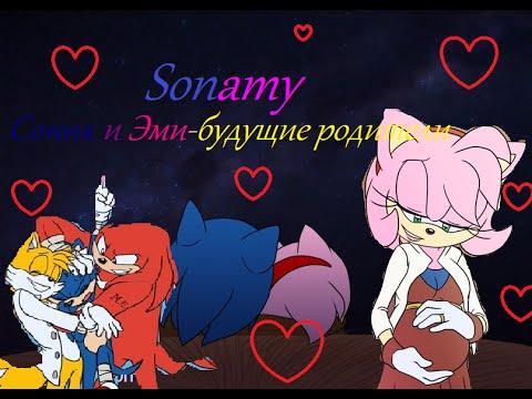 """""""Sonamy""""Соник и Эми-будущие родители"""" 6 серия """"Результаты ..."""