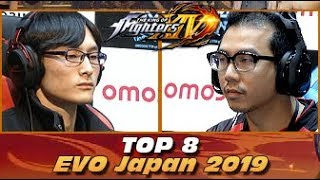 The King of Fighters XIV - EVO Japan 2019 - TOP 8 feat. Score, Akir...