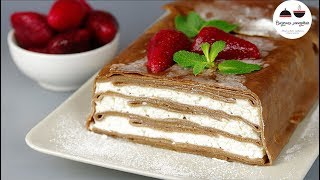 Блинный торт ШОКОЛАДНЫЙ ПЛОМБИР