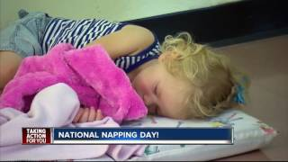 Monday is National Napping Day