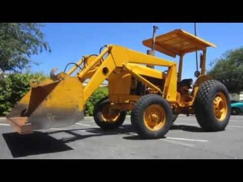 John Deere 301a Front Loading Industrial Tractor On