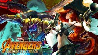 League of legends: infinity war trailer