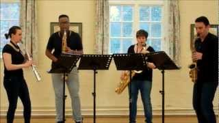 Sax In The City – saxophone quartet music