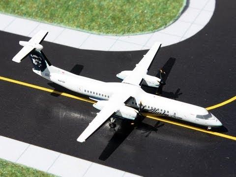 GEMINI JETS | 1:400 DASH-8 Q400 | ALASKA AIRLINES