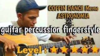 COFFIN DANCE meme Astronomia (Level 5) [Fingerstyle gitar]