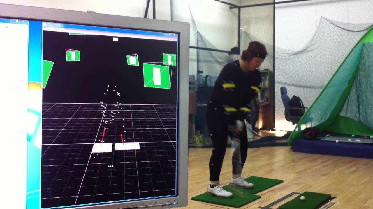 Golf Swing Motion Capture With Ground Reaction Forces