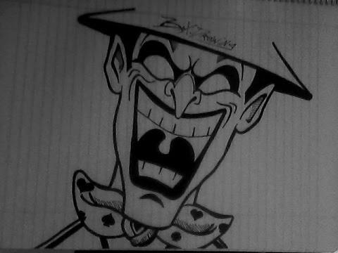 Dibujando un ♠JOKER♠(Personaje Graffiti) - YouTube