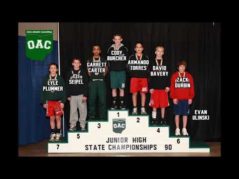 Jr. High State Placers 2018