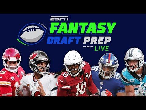 The 2021 ESPN Fantasy Football Draft   Fantasy Draft Prep Live