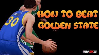 how to beat golden state   nba 2k16   hd