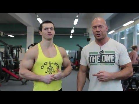Битва Алексея Шредера и Дениса Семенихина: беговая дорожка и жим лёжа.