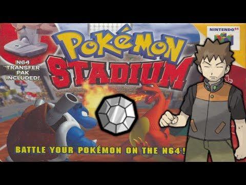 Pokémon Stadium - Episode 1 - Gym Leader Castle - Pewter Gym and Gym Leader Brock!