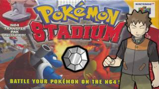 Pokémon Stadium - Episode 1 - Gym Leader Castle - Pewter Gym and Gym Leader Brock!