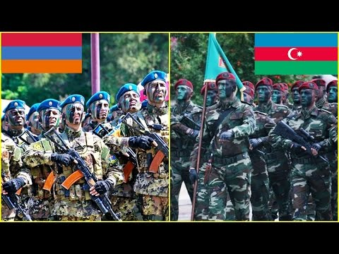 Azerbaijan VS Armenia Military Power Comparison 2016~2017 HD