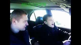 приколы на уроках вождения=)