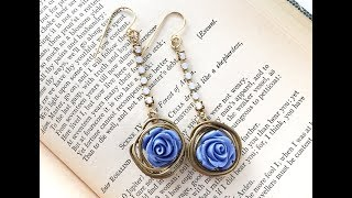 How-To Jewelry Video: Rose Bush Earrings