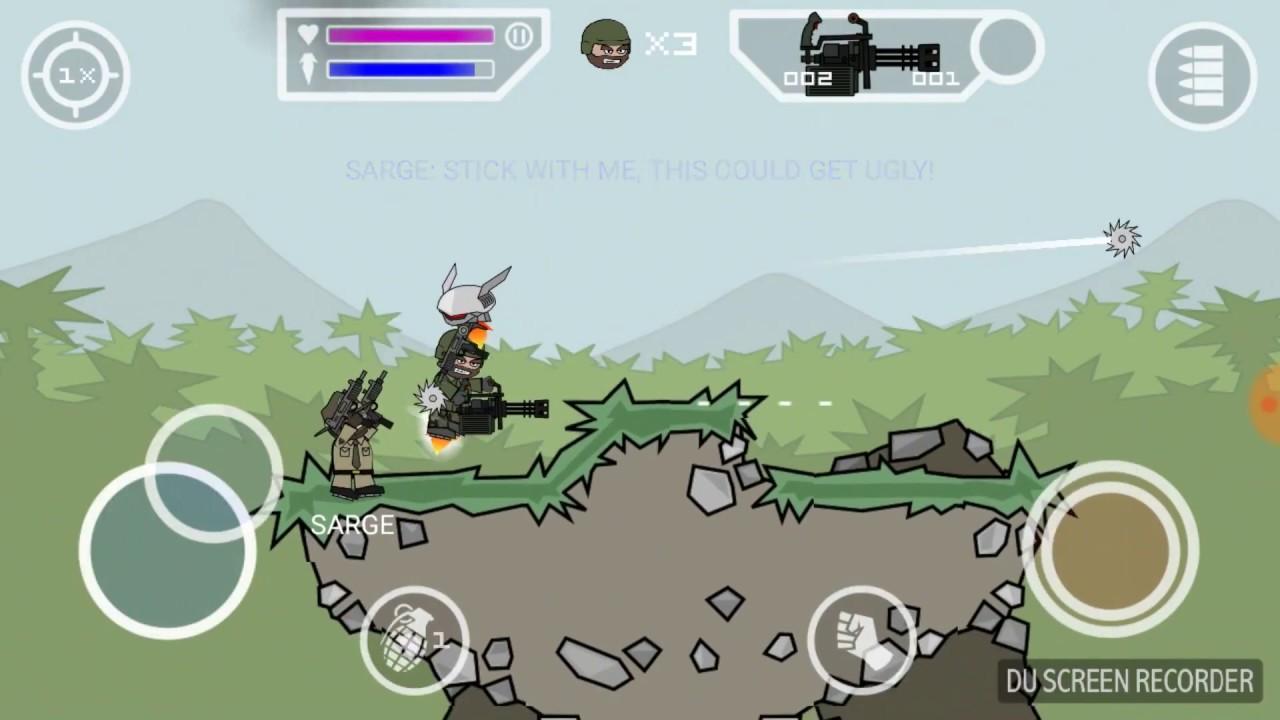 mini militia mod apk unlimited ammo and health download