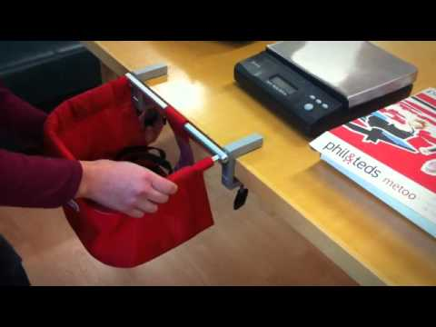 Metoo Portable High Chair Adult Rocking Highchair Safety Video Phil And Teds Youtube Premium