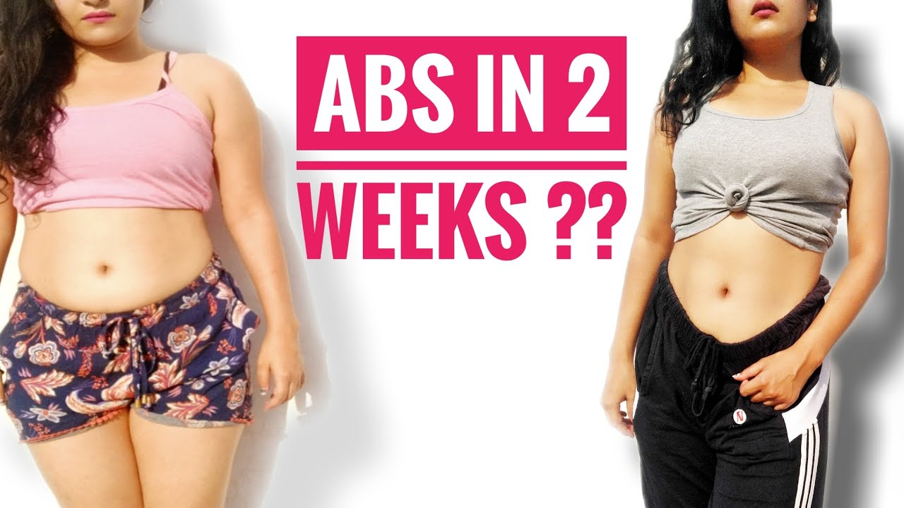 Get abs in 2 weeks😲 | Chloe tings abs challenge | Results ...