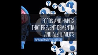 Lifestyle changes to prevent dementia ...