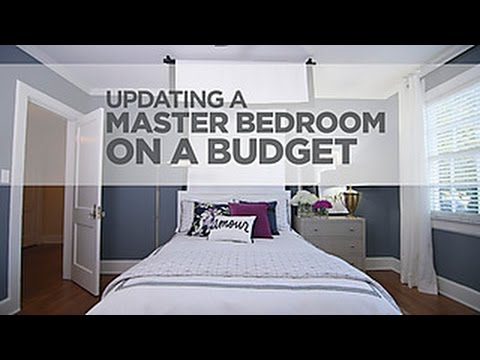 Bon Budget Decorating A Sophisticated Master Bedroom