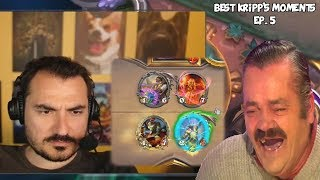 Best of Kripp's Twitch Moments - Ep. 5 [August p. 4] Hearthstone Compilation