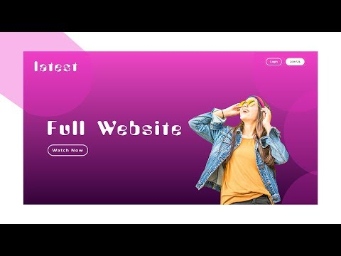 How To Make Website Using HTML And CSS | Full Website Making Tutorial Step By Step