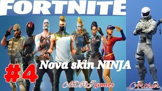 FORTNITE - #4 - NOVA SKIN NINJA