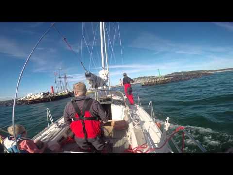 Sailing Gothenburg to Anholt 2015
