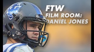 FTW Film Room | Why Daniel Jones is worthy of a first-round draft pick