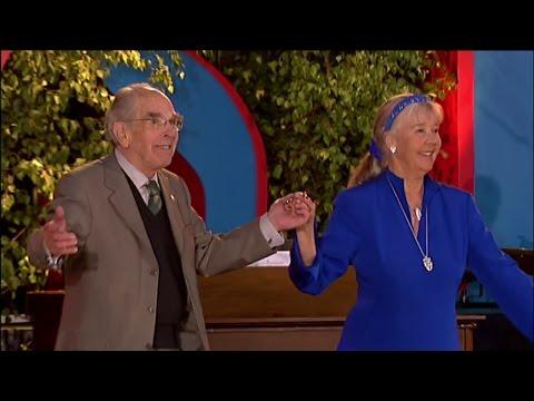 Alice Babs och Charlie Norman i Allsång på Skansen