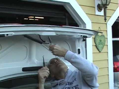 adventures in car repair trunk latch youtube. Black Bedroom Furniture Sets. Home Design Ideas