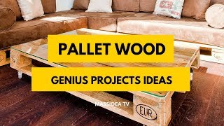 100+ Genius Pallet Wood Projects Ideas Anyone Can Make It!