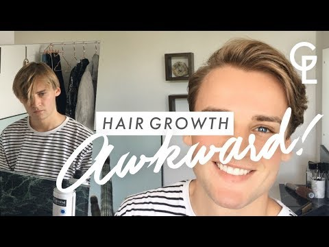 MEN'S HAIR GROWTH: HOW TO STYLE DURING AWKWARD STAGE | Georgeous