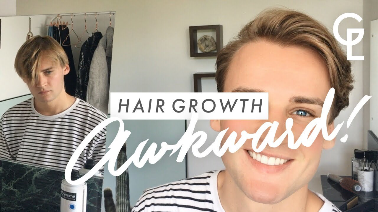Mens Hair Growth How To Style During Awkward Stage Georgeous
