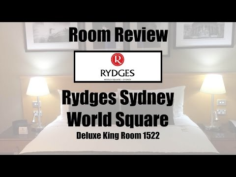 Rydges World Square Sydney Deluxe King Room 1522 Walkthrough & Review